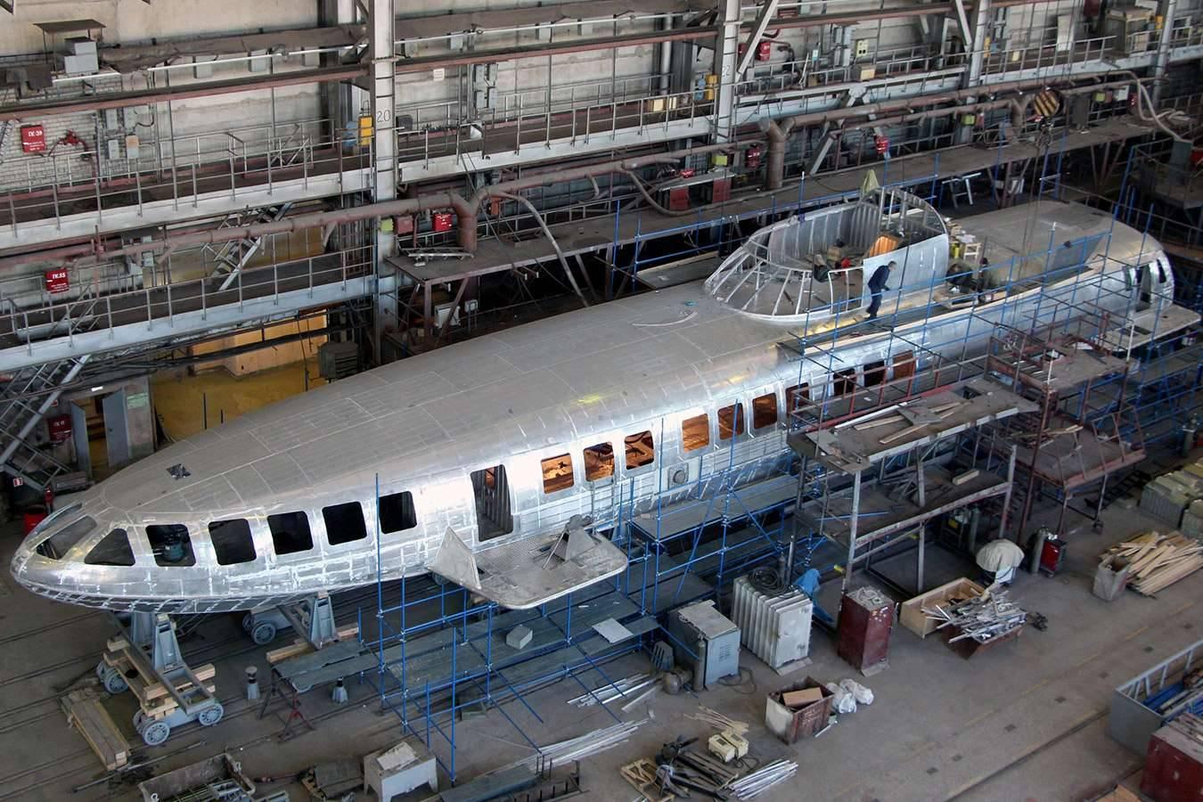 Крымский завод готовится к выпуску легендарных пассажирских судов «Комета»